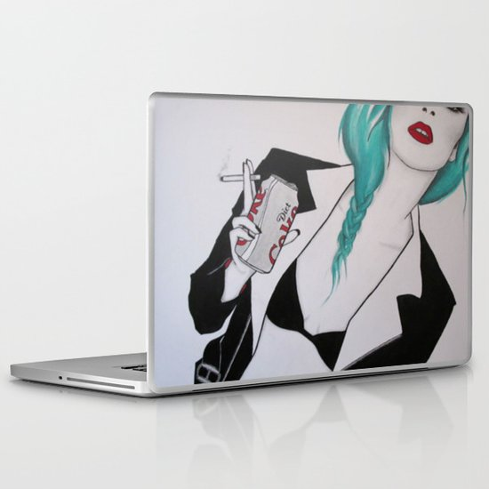 Diet Coke Addict Laptop & iPad Skin