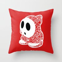 ShyGuy #CrackedOutBadGuy… Throw Pillow