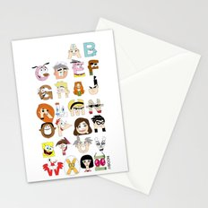 Child of the 00s Alphabet Stationery Cards