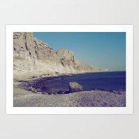 Eros Beach Art Print