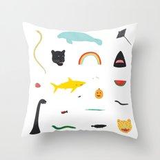Great Gathering Throw Pillow
