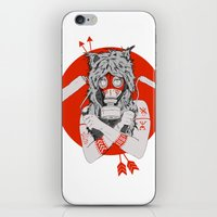Lady of the Wild iPhone & iPod Skin