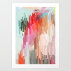 Everything will flow Art Print