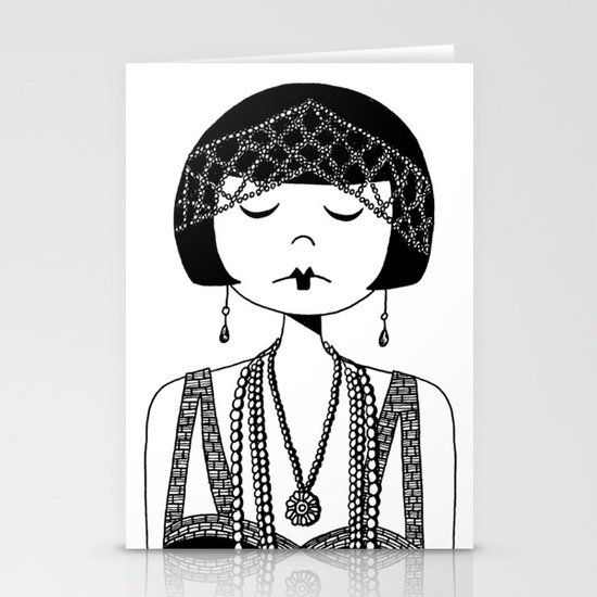 Star of the Silver Screen Stationery Card