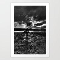 Dark Light Art Print