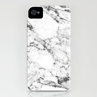 iPhone 4s & iPhone 4 Cases featuring Marble by Thorlol