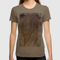 Galaxy + Nature Reflecti… Womens Fitted Tee Tri-Coffee SMALL