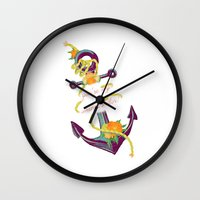 You're My Anchor Wall Clock