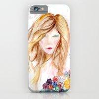 Lady In Bloom  iPhone 6 Slim Case