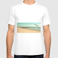 desire Mens Fitted Tee White SMALL