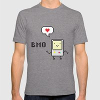 Beemo Lovin' Adventure Time Boogie Mens Fitted Tee Tri-Grey SMALL
