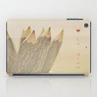 I Love To Draw iPad Case