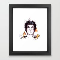 The Tattoo That Could Sw… Framed Art Print