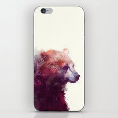 Bear // Calm iPhone & iPod Skin