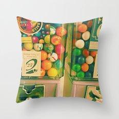 goody goody gumball! Throw Pillow