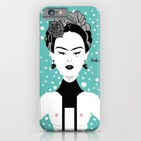 iPhone & iPod Case featuring Frida Kahlo 2014 by afrancesado