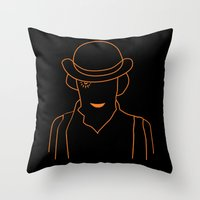 Mr. DeLarge Throw Pillow