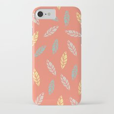 fall feathers iPhone 7 Slim Case