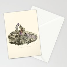 Lima. Bear and maiden. Stationery Cards