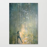 Scintillant Canvas Print