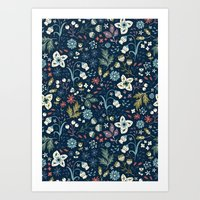 Wild Meadow Art Print