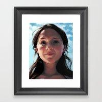 Breathe In Framed Art Print