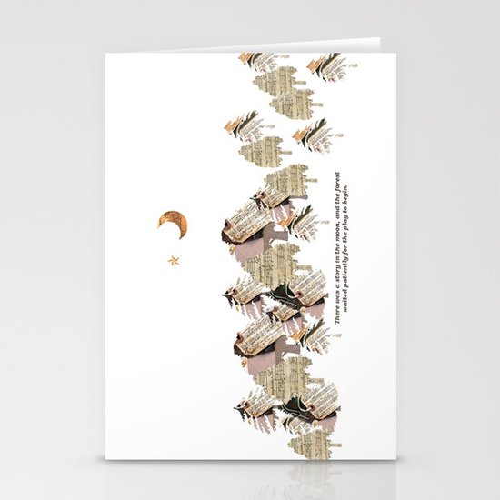 Little Women Inspired Stationery Card