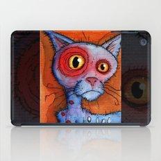 zombie cat iPad Case