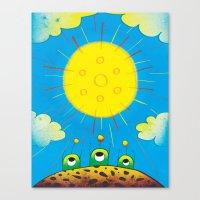 Solar Power Canvas Print