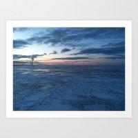Lake Erie Winter Art Print