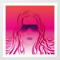 SF Eye Apparel Art Print