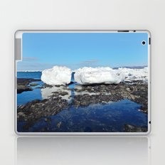 Icebergs Beached by the tides Laptop & iPad Skin
