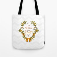 Flower Laurel Tote Bag