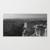 Valley in Utah Canvas Print