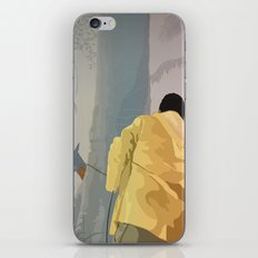 Jurassic Park - Dennis and the Dilophosaurus iPhone & iPod Skin