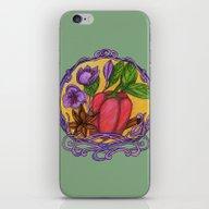 Art Nouveau. Spices iPhone & iPod Skin