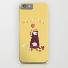 Happy birthday purple monster! iPhone 6 Slim Case