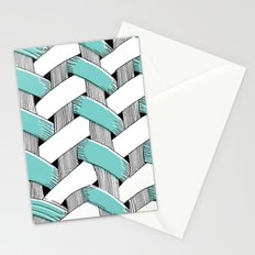 Basket Weave Stationery Cards
