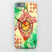 iPhone & iPod Case featuring Clock's ticking... by Emanpris Artcore