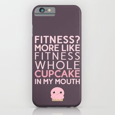 Aaaaand 1...2...3.... stretch your mouth open wide and get that cupcake in there!!! iPhone 6s Slim Case
