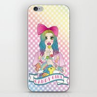 Candy Girl iPhone & iPod Skin