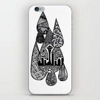Tears for Seattle iPhone & iPod Skin