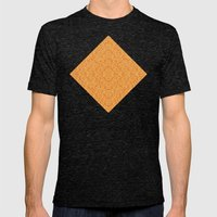 Bardarbunga Gold Mens Fitted Tee Tri-Black SMALL