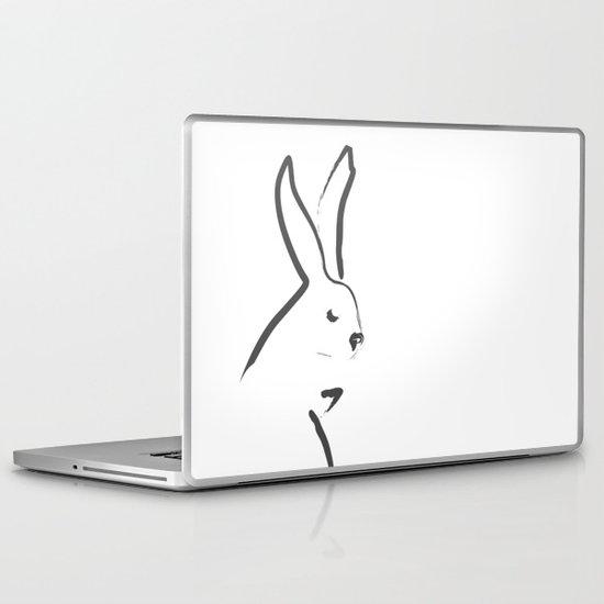 Zen Snow Bunny Laptop & iPad Skin