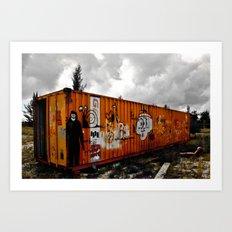 Forgotten cargo Art Print