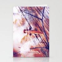 Dragonfly :: Twiggy Stationery Cards