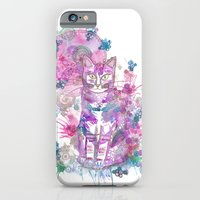 Purple kitten iPhone 6 Slim Case
