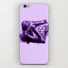 Homage To Bowie - The Ma… iPhone & iPod Skin