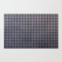 Monochrome Aura - Textur… Canvas Print