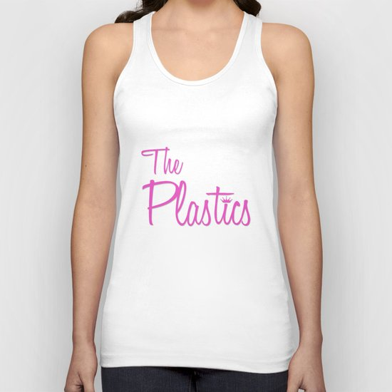 The Plastics - from the movie Mean Girls Unisex Tank Top